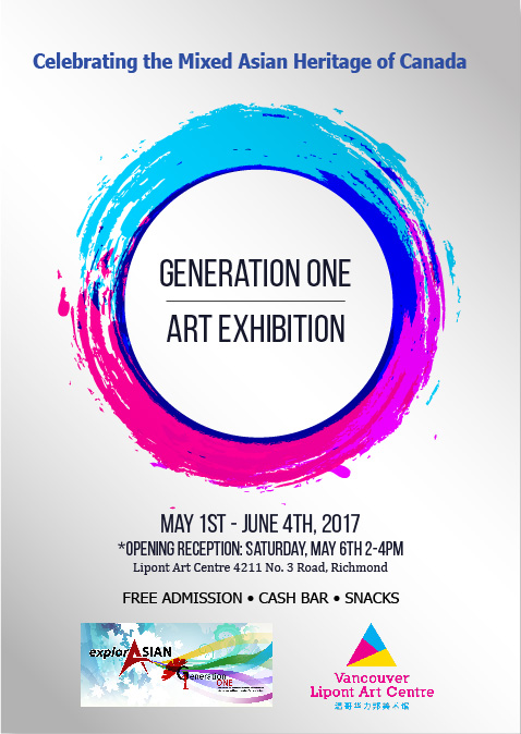 J.A. Participates in Generation One Exhibit for Asian Heritage Month
