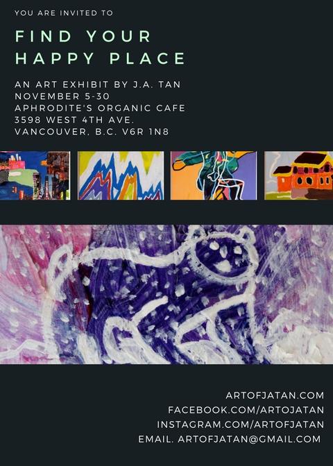 J.A. Tan Art Exhibit in Vancouver