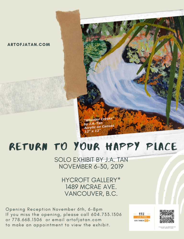 Return to Your Happy Place at Hycroft Gallery